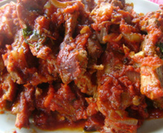 Spare Ribs with Tomato Sauce!! Recipe