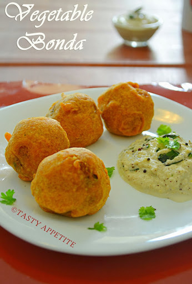 VEGETABLE BONDA / STEP BY STEP RECIPE / EASY SNACKS RECIPES