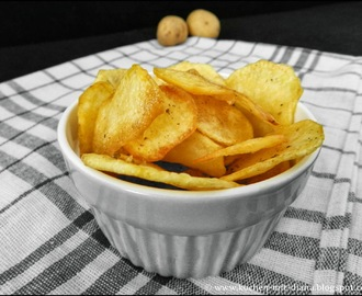 Hausgemachte Chips/ Home made chips