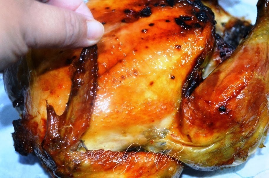 Honey Glazed Roasted Chicken