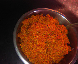 How to make baked peanut chutney recipe ? - Sticky