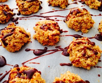 Healthy coconut and almond macaroons
