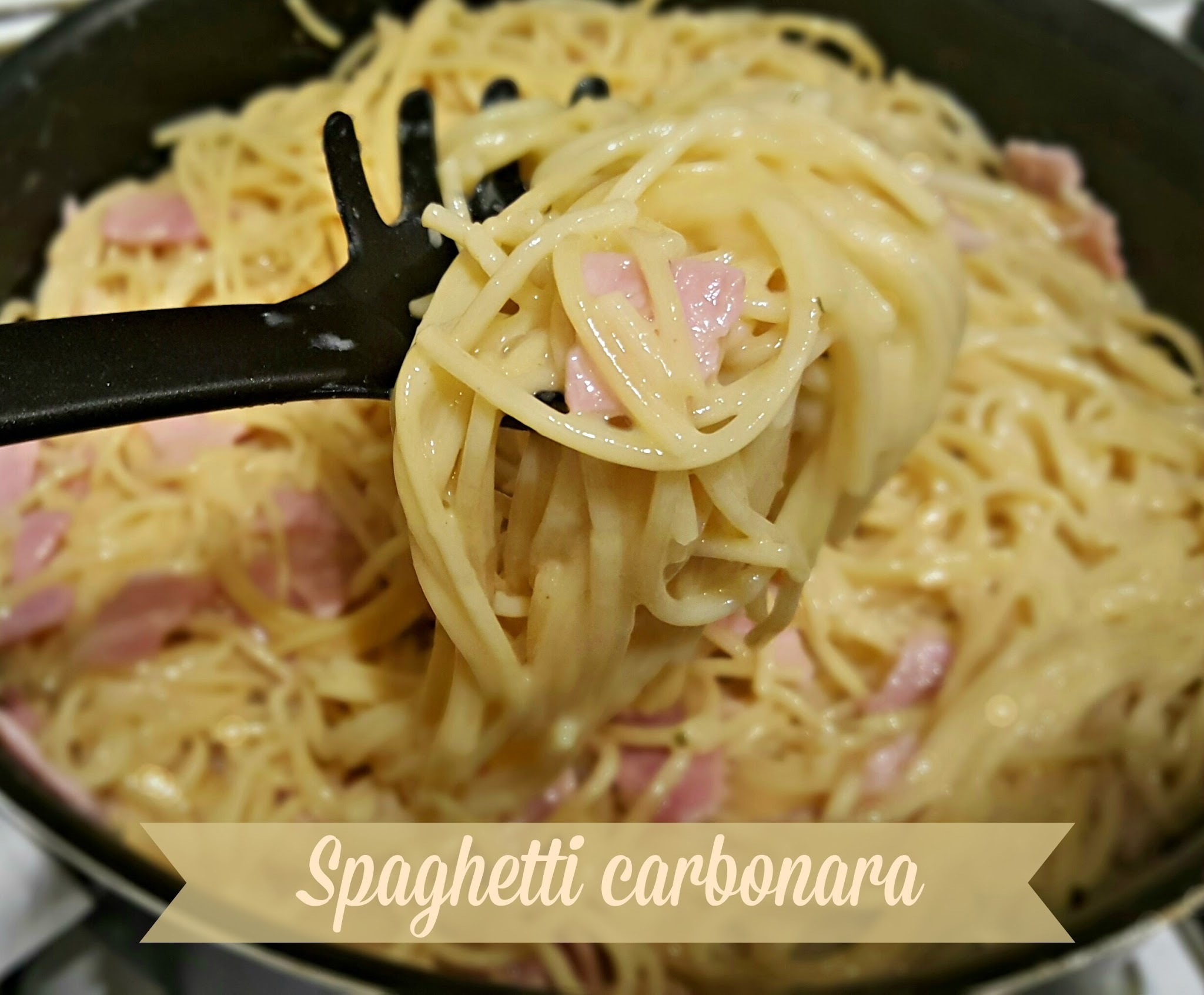 Recipe - Spaghetti carbonara (#SlimmingWorld friendly)