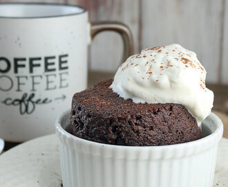 Keto Chocolate Cake in a Mug