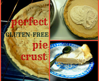 Perfect Gluten-Free Vegan Pie Crust