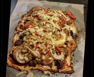 nyttig pizza recept