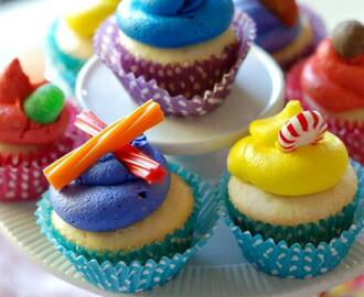Candy Land Cupcakes