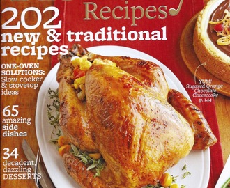 Better Homes and Gardens Holiday Recipes