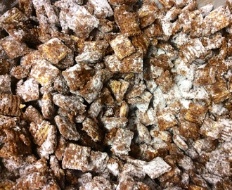 Peanut Butter Chocolate Puppy Chow