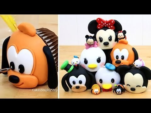 DIY Cute DISNEY CUPCAKES / Easy Decorating Ideas