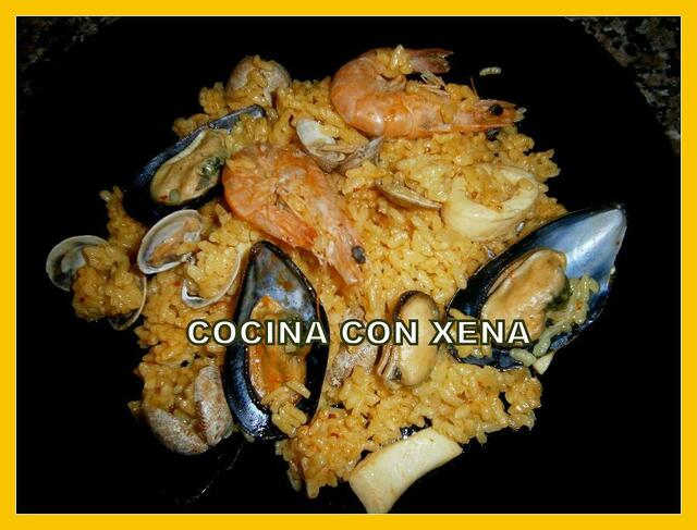 Arroz de marisco en Olla Gm d