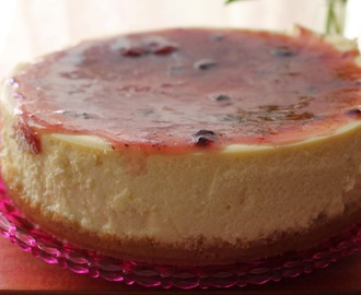 New York cheesecake...madre mía, que tarta de queso!!!!!♥♥♥