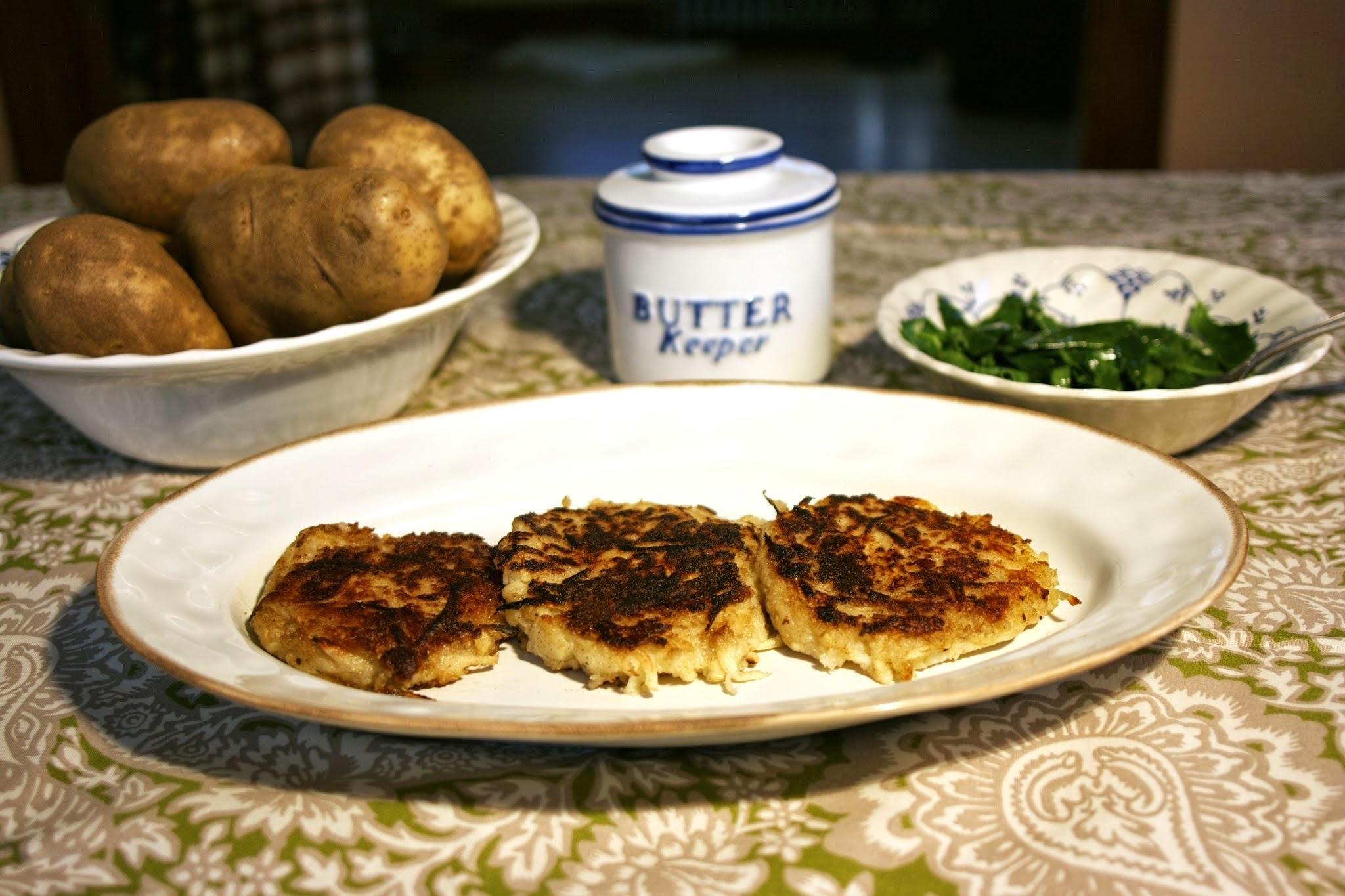 Irish Potato Pancakes (Boxty) with Parsnip:  #Foodie Friday