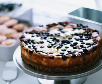 RECIPE: BLUEBERRY CHEESECAKE IN NEW YORK STYLE