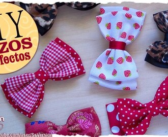 DIY: Como hacer Lazos Dobles Perfectos | Perfect Double Bow | EASY TUTORIAL