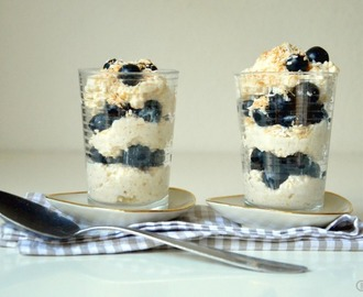 Amarant-Joghurt mit Blaubeeren - VEGAN DAYS {Yoghurt and Amaranth with Blueberries – VEGAN DAYS}