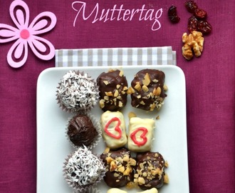 Psst... dreierlei Pralinen, die jede Mutti lieben wird & eine GEWINNERIN {Shhhh… Mother's Day is near. Need inspiration for a present? How about three different kinds of pralines}
