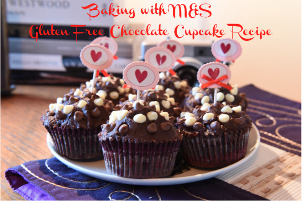 Baking with M&S – Gluten Free Chocolate Cupcake Recipe