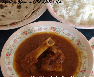 Mutton Qorma Old Delhi Ka (Without Pressure Cooker)