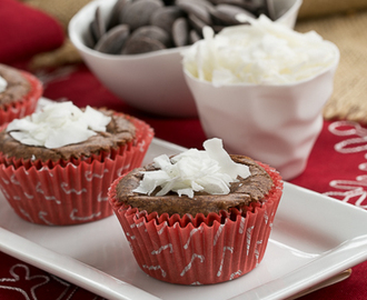 Mounds Brownie Cupcakes #ChristmasWeek #Giveaway