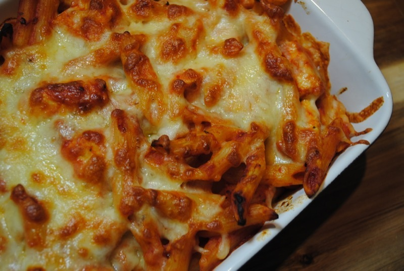 Chicken Mozzarella Pasta Bake recipe