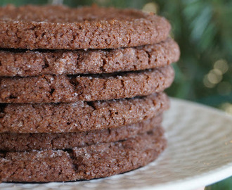 Sugared Chocolate Cookies