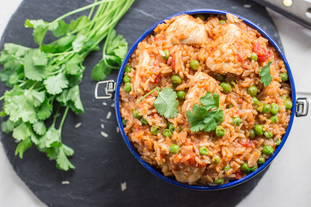 One Pot Easy Chicken and Rice