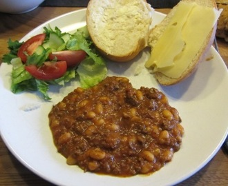 Chili con carne i Crock-Pot