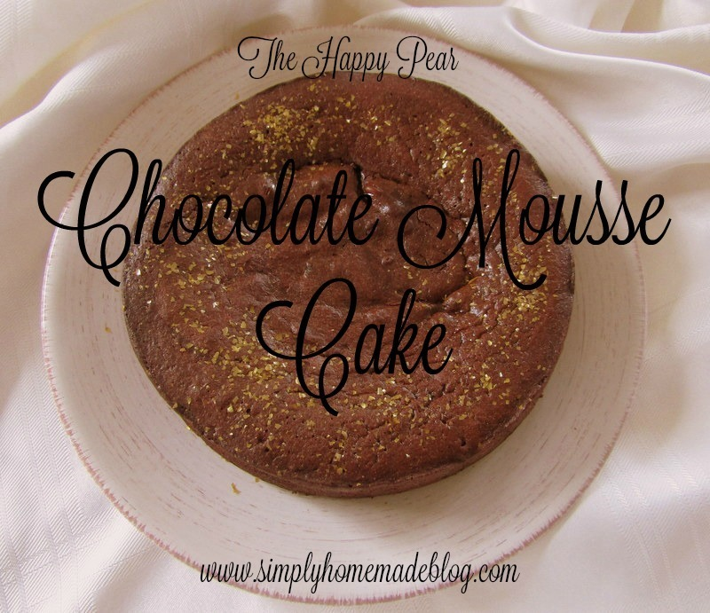 Happy Pear Chocolate Mousse Cake