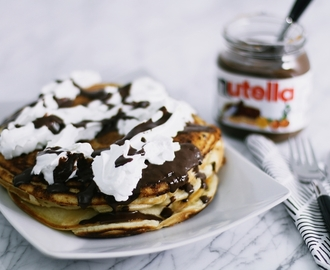 RECIPE: NUTELLA PANCAKES