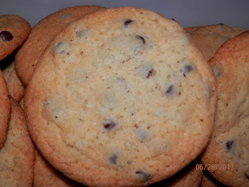 Egg Free, Dairy Free, Nut Free Perfect Chocolate Chip Cookies