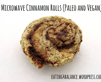Microwave Cinnamon Rolls — 12 Days of Allergy-Free Christmas Recipes Day One