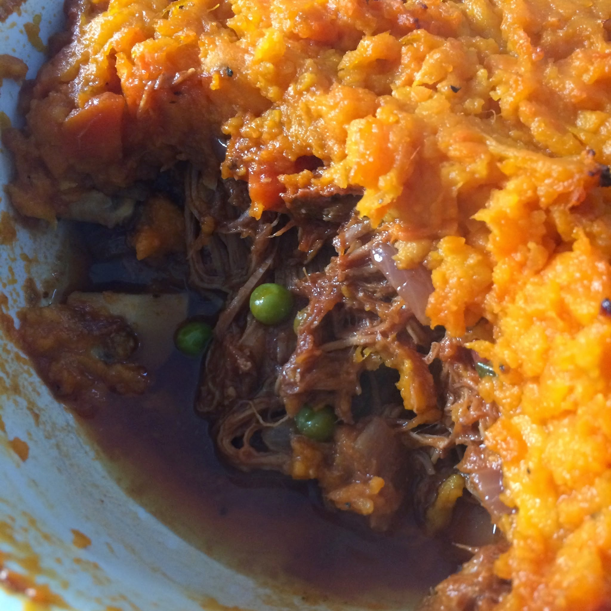 Pulled Pork Cottage Pie