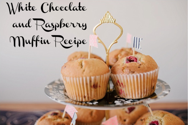 White Chocolate and Raspberry Muffin Recipe