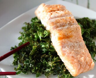 Chinese Salmon and Crispy Kale