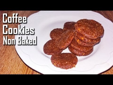 no bake coffee cookies - sugarfree | कॉफी कुकीज़ | coffee cookies recipe without bake