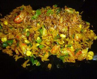 Curried Crayfish Rice Salad Recipe