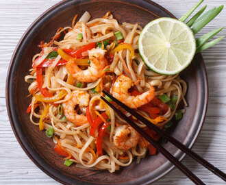 Malaysian style Tom Yum Fried Noodle Recipe