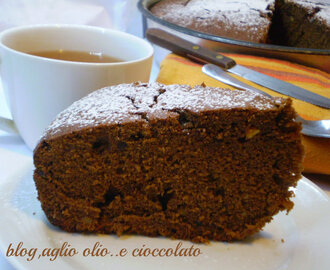 TORTA ALL'EARL GREY TEA AL CIOCCOLATO E ARANCIA..