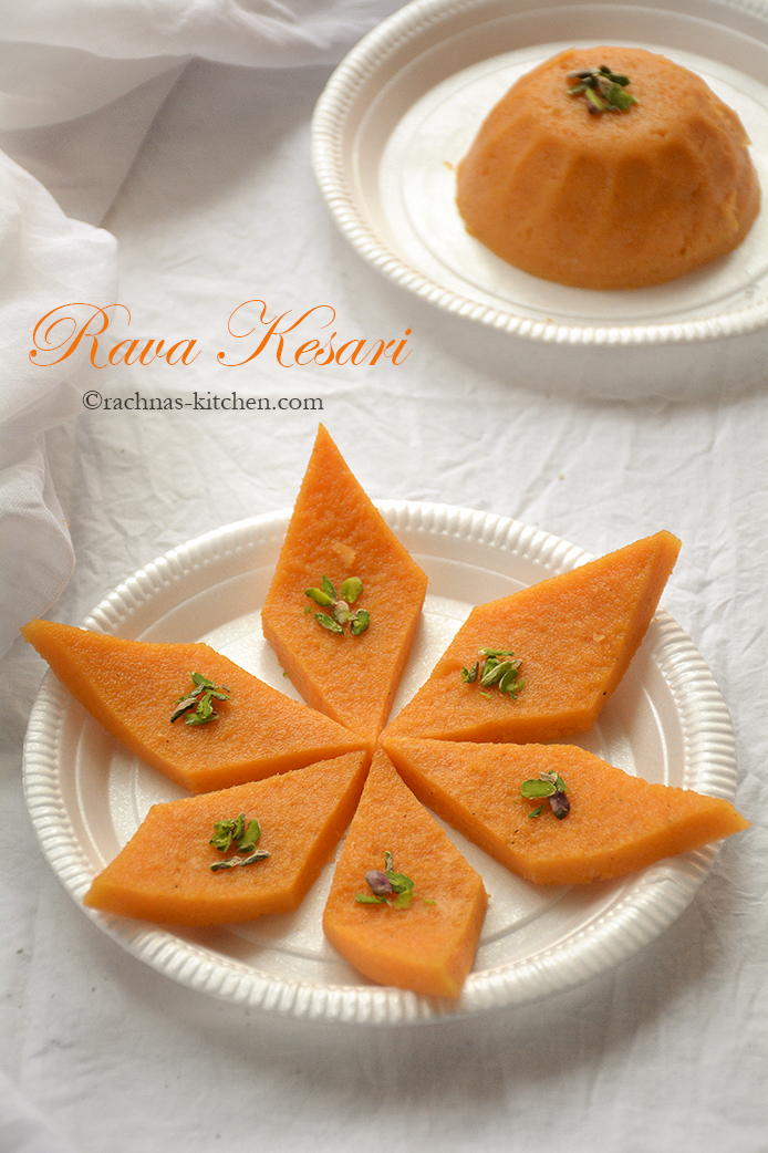 Rava Kesari Recipe | Semolina Pudding Recipe