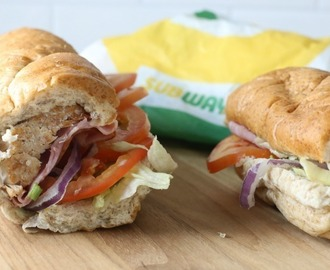 Subway Rotisserie-Style Chicken sandwich