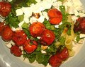Mediterranean Cherry Tomato & Spinach Pasta Salad - Not Rabbit Food