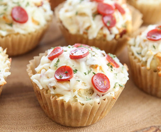 PIZZA (MUFFIN) CUPCAKES