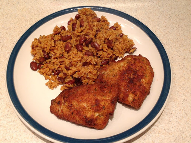 Rice and Red Beans