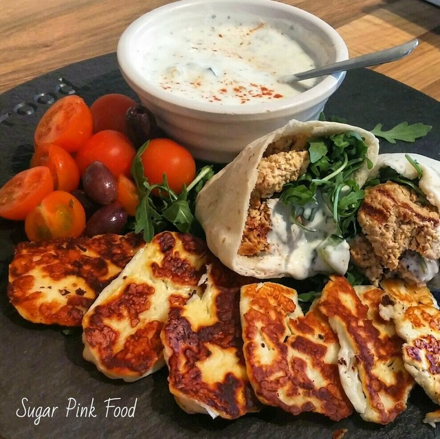 Slimming World Recipe:- Moroccan Turkey Kofta Pittas