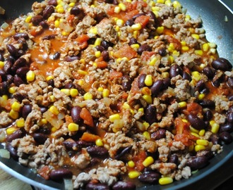 Healthy Turkey Chilli recipe