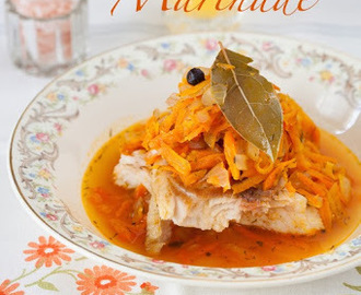 "Russian Monday: ""Riba pod Marinadom"" - Pan Fried Fish with Warm Carrot Sauce ""Marinade"""