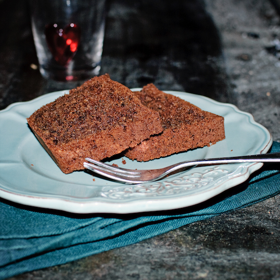 Chocolate pound cake and an imminent trip to China