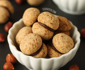 Baci di Dama Italian Cookies (gluten-free or whole wheat)