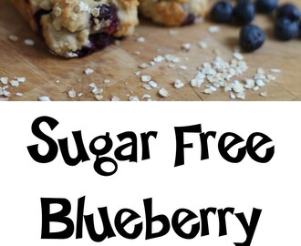 Sugar Free Blueberry Muffins Recipe